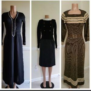 Perfect Winter Vintage dresses